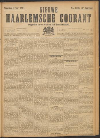 Nieuwe Haarlemsche Courant 1907-02-11