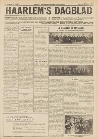 Haarlem's Dagblad 1926-10-30