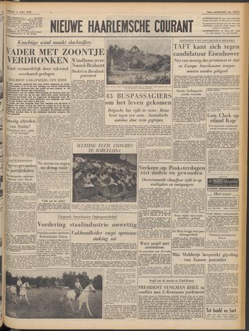 Nieuwe Haarlemsche Courant 1952-06-03