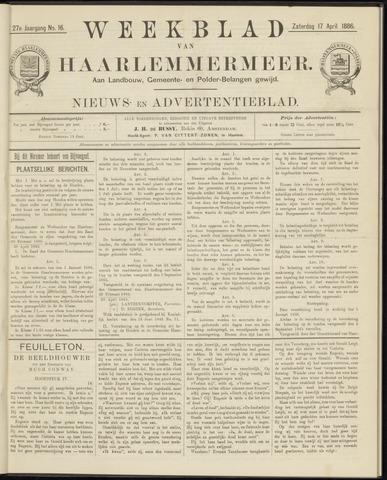 Weekblad van Haarlemmermeer 1886-04-17