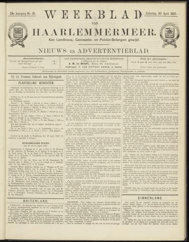 Weekblad van Haarlemmermeer 1887-04-30
