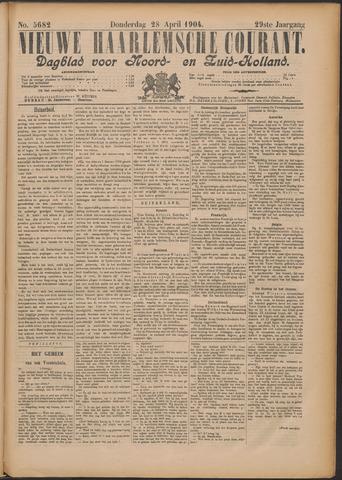 Nieuwe Haarlemsche Courant 1904-04-28