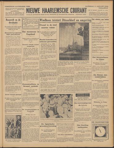 Nieuwe Haarlemsche Courant 1936-01-11