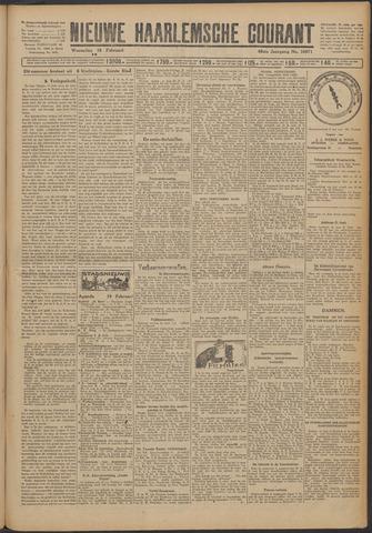 Nieuwe Haarlemsche Courant 1925-02-18
