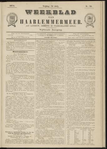 Weekblad van Haarlemmermeer 1874-07-31