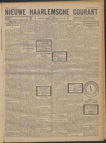 Nieuwe Haarlemsche Courant 1922-04-14