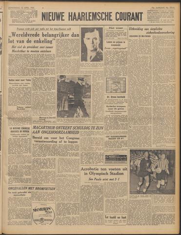 Nieuwe Haarlemsche Courant 1951-04-12