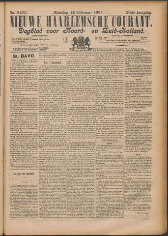 Nieuwe Haarlemsche Courant 1906-02-26