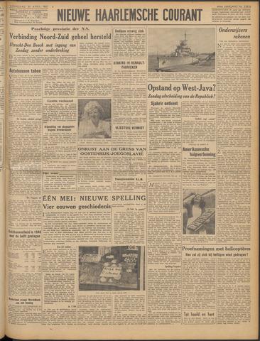 Nieuwe Haarlemsche Courant 1947-04-30