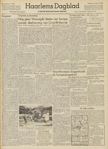 Haarlem's Dagblad 1950-08-15