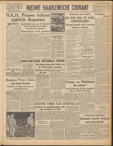 Nieuwe Haarlemsche Courant 1947-10-03