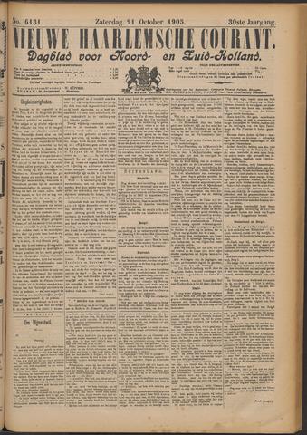 Nieuwe Haarlemsche Courant 1905-10-21