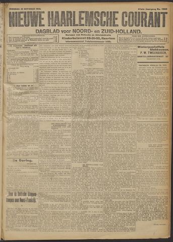 Nieuwe Haarlemsche Courant 1914-10-13