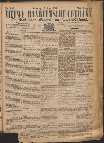 Nieuwe Haarlemsche Courant 1902-04-14