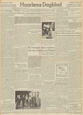 Haarlem's Dagblad 1947-10-13