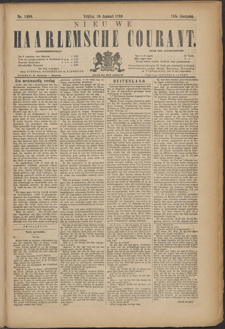 Nieuwe Haarlemsche Courant 1890-01-10