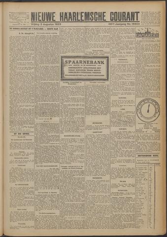 Nieuwe Haarlemsche Courant 1923-08-03