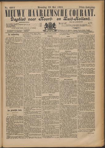 Nieuwe Haarlemsche Courant 1905-05-29