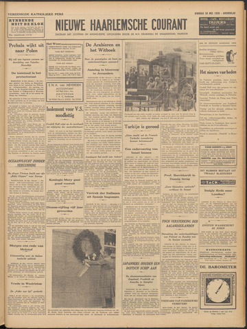 Nieuwe Haarlemsche Courant 1939-05-30