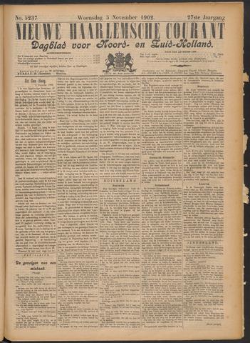 Nieuwe Haarlemsche Courant 1902-11-05