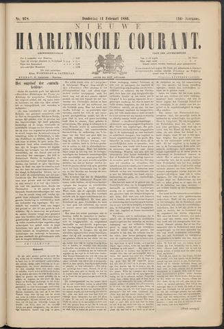 Nieuwe Haarlemsche Courant 1886-02-11