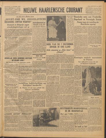 Nieuwe Haarlemsche Courant 1949-10-03