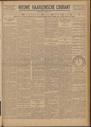 Nieuwe Haarlemsche Courant 1931-04-17
