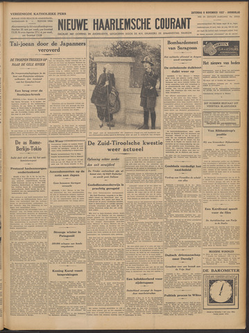 Nieuwe Haarlemsche Courant 1937-11-06