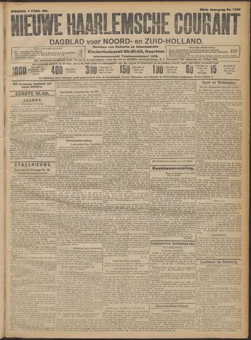Nieuwe Haarlemsche Courant 1911-02-07