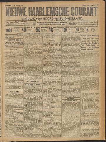 Nieuwe Haarlemsche Courant 1911-10-31