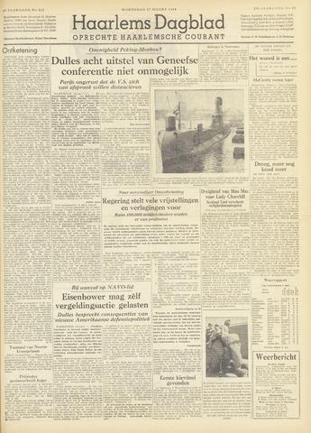 Haarlem's Dagblad 1954-03-17