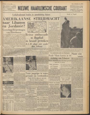 Nieuwe Haarlemsche Courant 1958-07-15