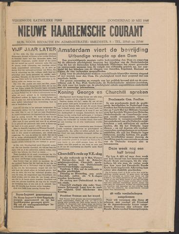 Nieuwe Haarlemsche Courant 1945-05-10