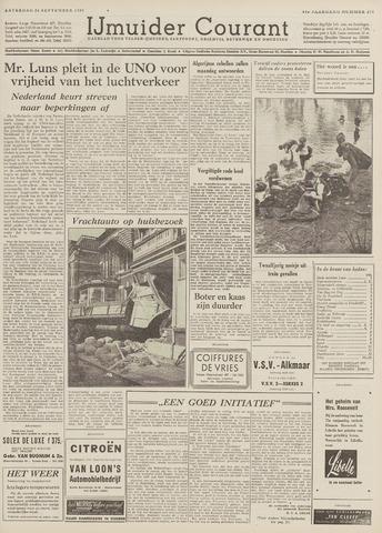 IJmuider Courant 1959-09-26