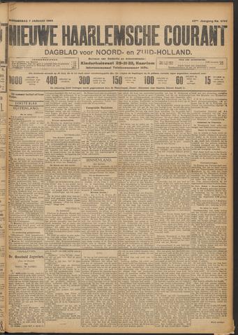 Nieuwe Haarlemsche Courant 1909-01-07