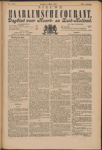 Nieuwe Haarlemsche Courant 1899-03-14