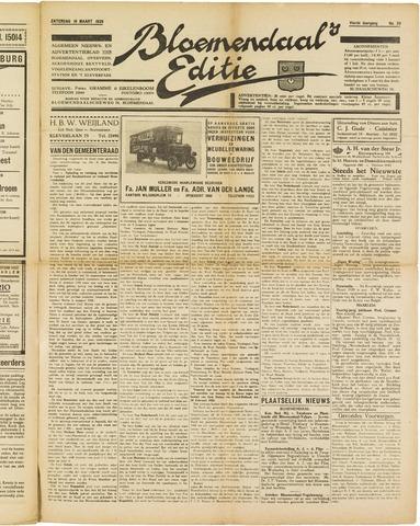 Bloemendaal's Editie 1929-03-16