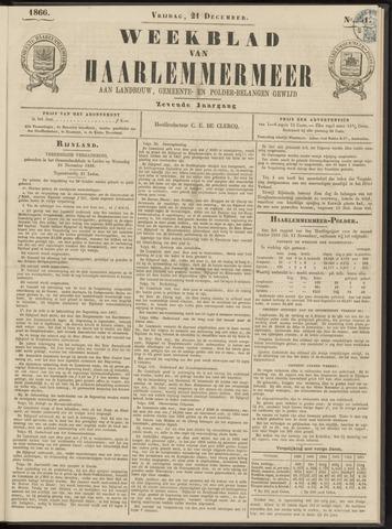 Weekblad van Haarlemmermeer 1866-12-21