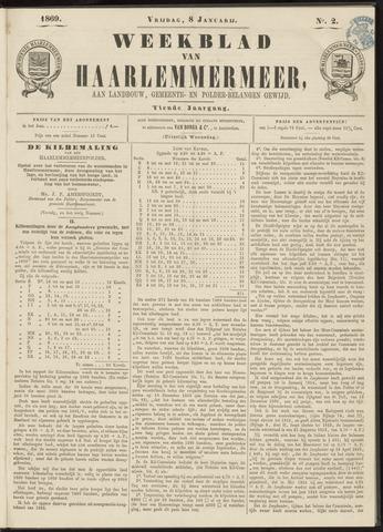 Weekblad van Haarlemmermeer 1869-01-08