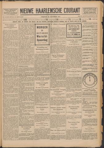 Nieuwe Haarlemsche Courant 1931-10-30