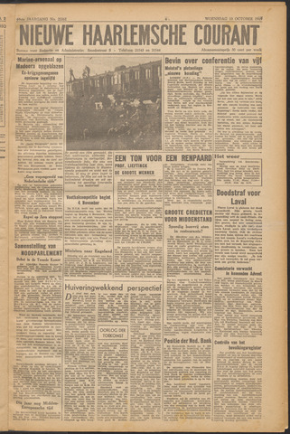 Nieuwe Haarlemsche Courant 1945-10-10