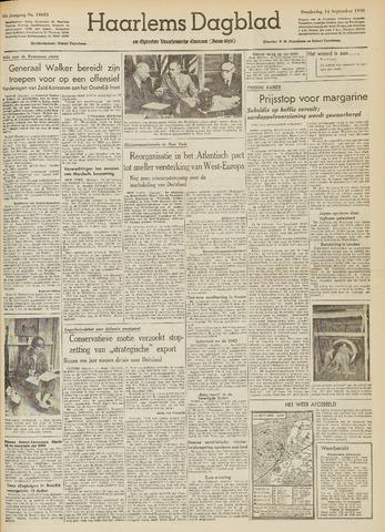 Haarlem's Dagblad 1950-09-14