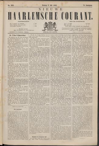 Nieuwe Haarlemsche Courant 1882-07-09
