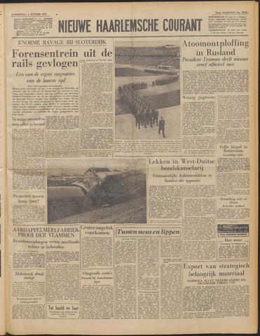 Nieuwe Haarlemsche Courant 1951-10-04