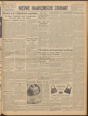 Nieuwe Haarlemsche Courant 1949-01-29