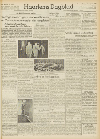 Haarlem's Dagblad 1947-08-15