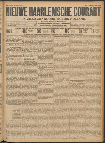 Nieuwe Haarlemsche Courant 1909-08-14