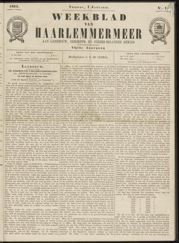Weekblad van Haarlemmermeer 1864-01-01