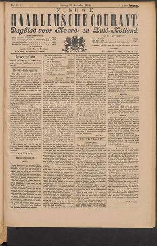 Nieuwe Haarlemsche Courant 1898-11-22