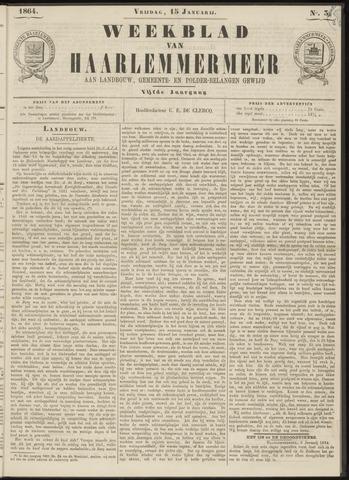 Weekblad van Haarlemmermeer 1864-01-15